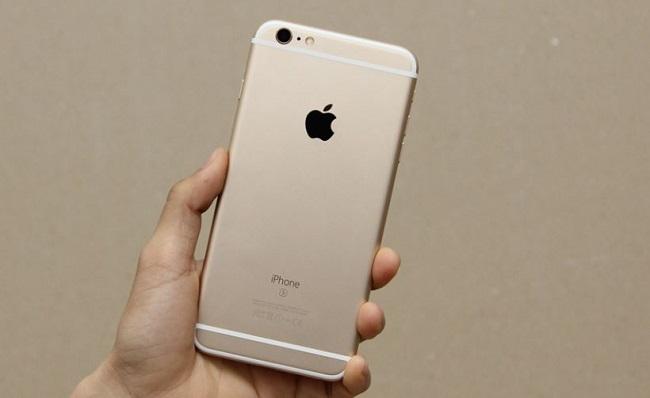 Mặt lưng iPhone 6S Plus Lock nổi bật với 2 dãy ăng ten
