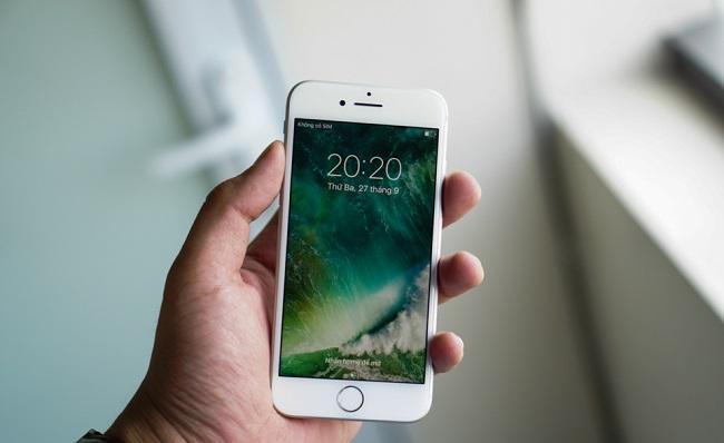 Màn hình Retina HD quen thuộc đem đến hình ảnh sắc nét trên iPhone 7 Lock