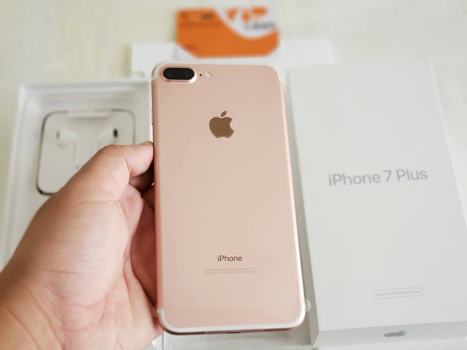 thiết kế iPhone 7 Plus 128GB CPO (Chưa Active)