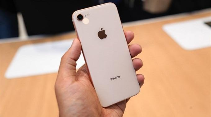 mặt lưng iPhone 8 Lock