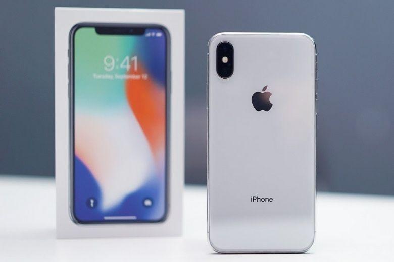 Thiết kế iPhone X cũ