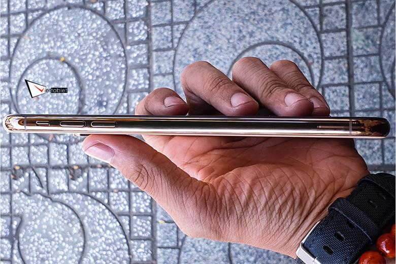 cạnh bên iPhone XS 256GB mới TBH