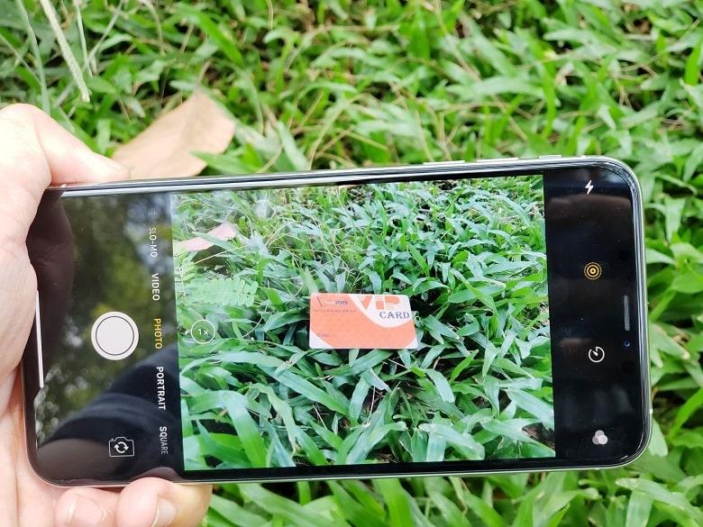 chụp ảnh trên iPhone XS Max 256GB cũ