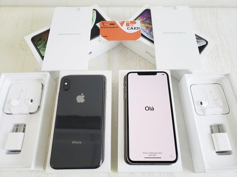 Mở hộp iPhone XS Max 64GB Chưa Active