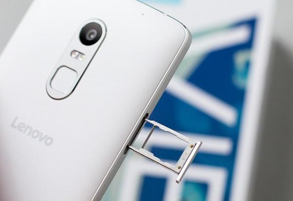 Điện thoại Lenovo Vibe X3 hỗ trợ 2 SIM