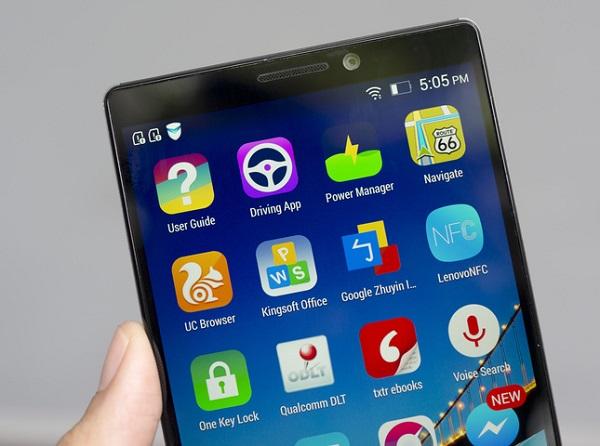 Lenovo Vibe Z2 Pro có độ phân giải màn hình lên đến 2K