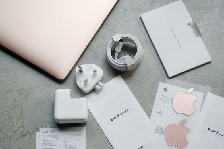 macbook air m1 13 inch 2020 512gb phụ kiện kèm theo máy
