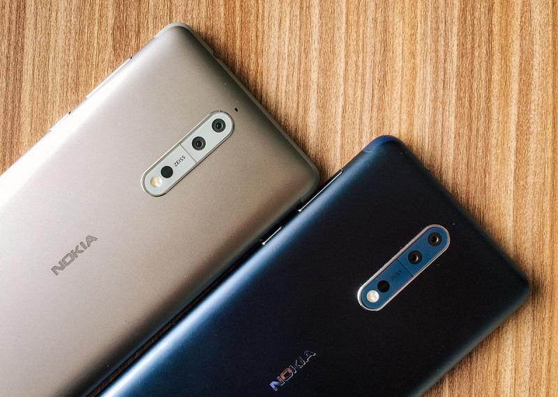 Màu sắc Nokia 8