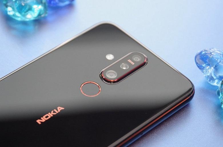 Cụm 3 camera trên Nokia X71 - Nokia 8.1