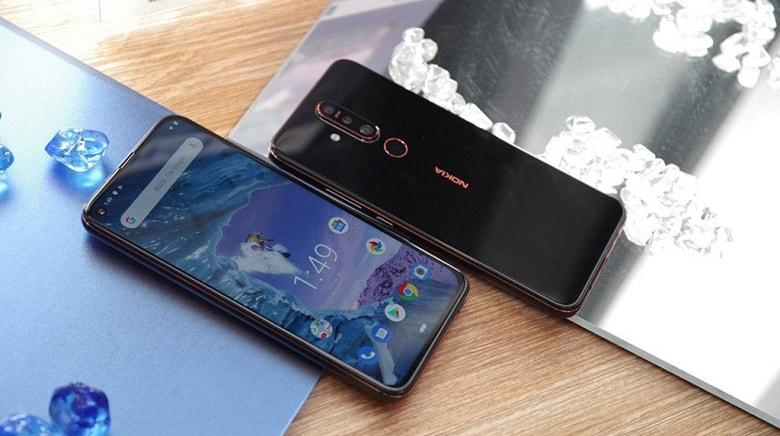 Nokia X71 - Nokia 8.1 màn hình đục lỗ ra mắt