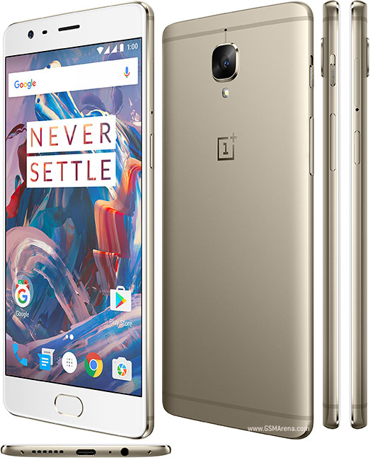 OnePlus 3T thiết kế