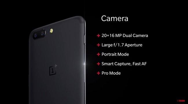 Camera OnePlus 5