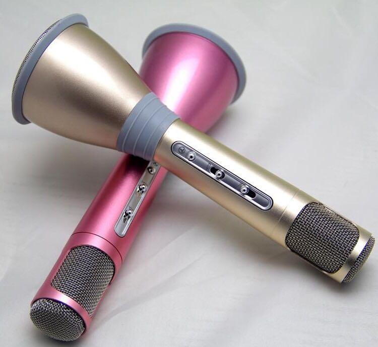 Micro Bluetooth Karaoke TUXUN K068 có 2 lựa chọn màu sắc