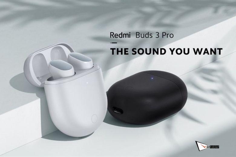 Xiaomi Redmi Buds 3 Pro thiết kế