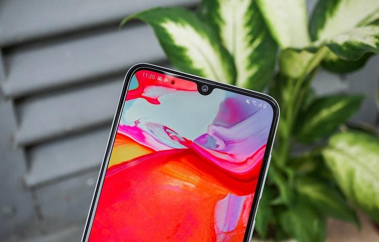 Màn hình Samsung A70 chính hãng