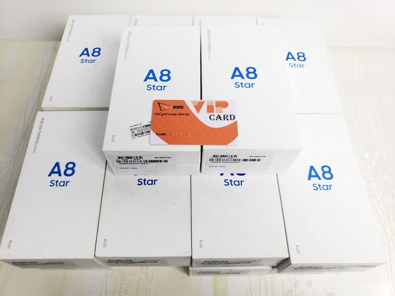 Số lượng Samsung Galaxy A8 Star chính hãng