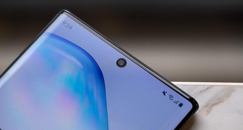 camera phụ của Galaxy Note 10 công ty