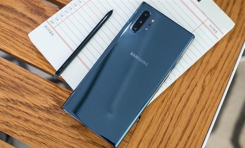 bút s-pen trên Samsung Note 10 chính hãng