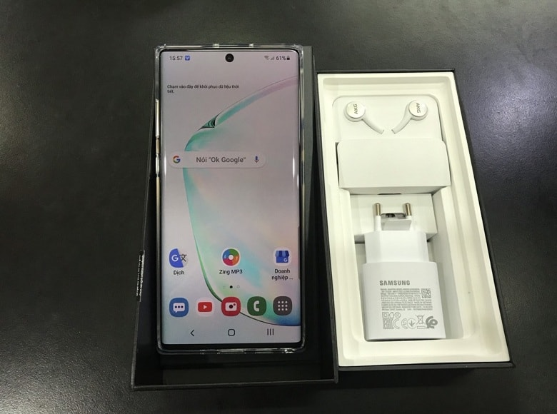 màn hình Samsung Galaxy Note 10 Plus Công Ty