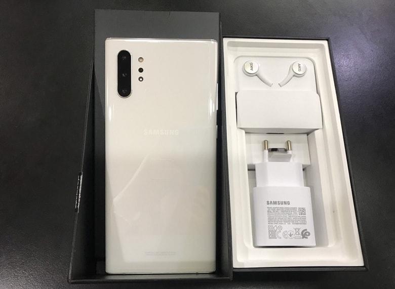 Samsung Galaxy Note 10 Plus 256GB Công Ty Fullbox bản màu trắng