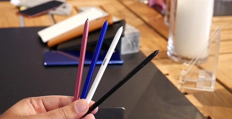 bút s-pen trên Galaxy Note 10 Plus 256GB Mỹ