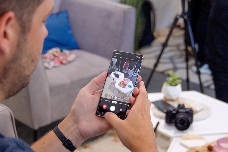 chụp ảnh trên Samsung Galaxy Note 10+ 256GB Mỹ