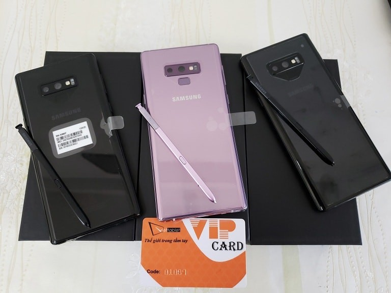 Đặt mua Samsung Galaxy Note 9 bản F