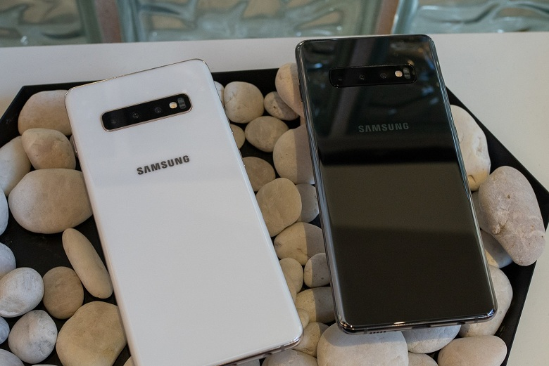 thiết kế Samsung Galaxy S10 Mỹ