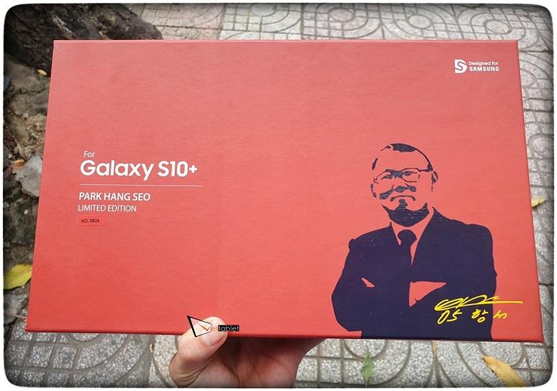hộp đựng Samsung Galaxy S10 Plus Park Hang Seo