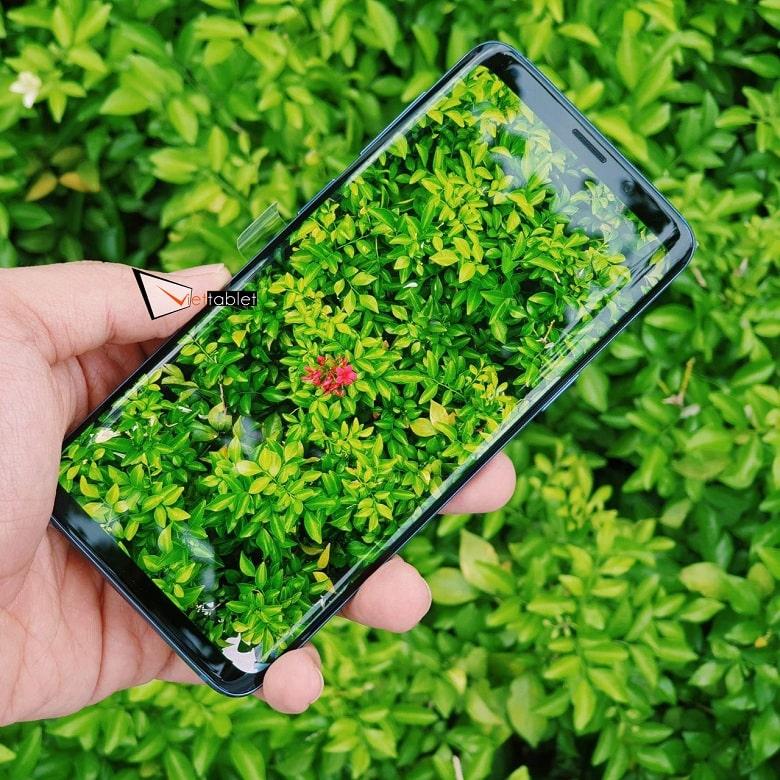 chụp ảnh Samsung Galaxy S9 Mỹ Like New