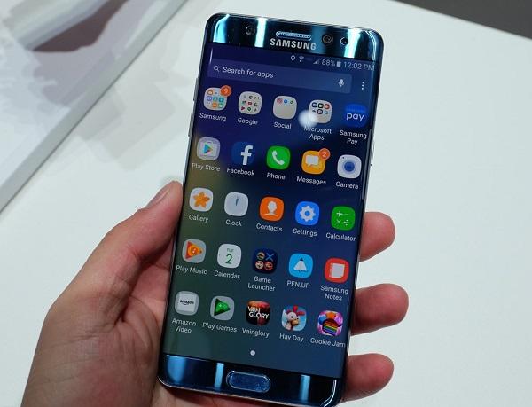 Samsung Galaxy Note 7 tân trang cấu hình