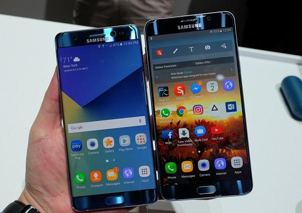 Samsung Galaxy Note 7 chính hãng xách tay refurbished