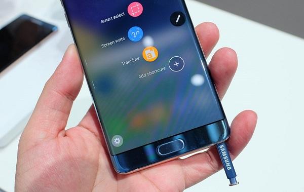 Samsung Galaxy Note 7 chính hãng xách tay thiết kế