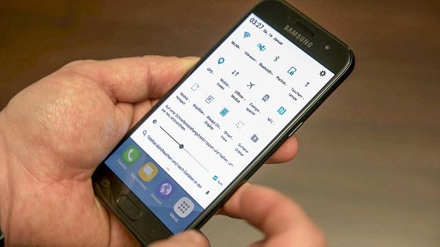 Hiệu năng của Samsung Galaxy A3 2017