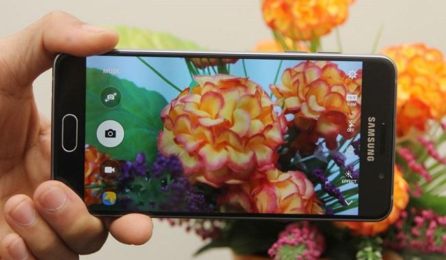 Giao diện chụp ảnh của Samsung Galaxy A5 2016