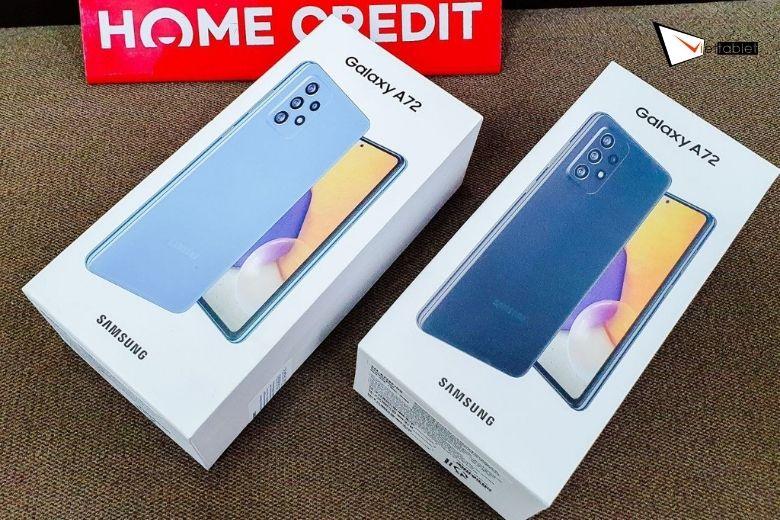 Samsung Galaxy A72 4G (8GB - 256GB) Công Ty fullbox