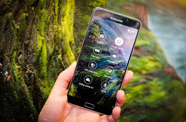 Những tính năn chụp ảnh thông minh trên Samsung Galaxy A9