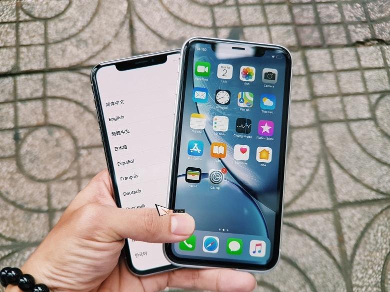 iPhone XR và iPhone X