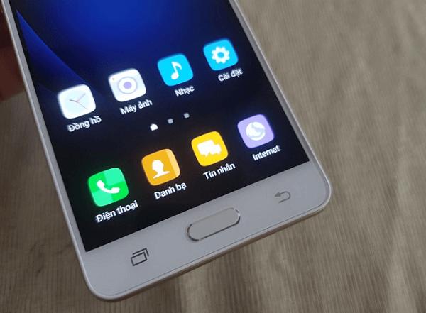 3 phím điều hướng Android quen thuộc trên Samsung Galaxy J3 Pro