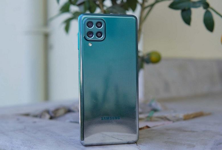 Samsung Galaxy M62 thiết kế