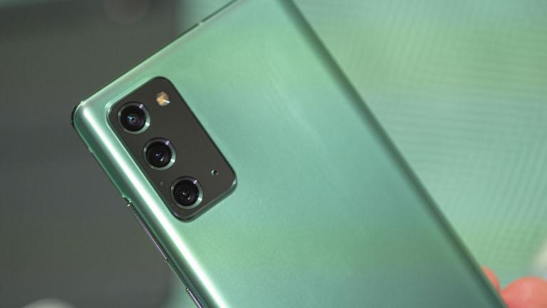 camera Samsung Galaxy Note 20 chính hãng cũ