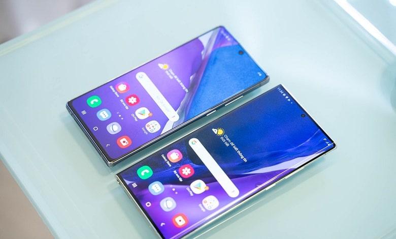 cấu hình Galaxy Note 20 chính hãng cũ