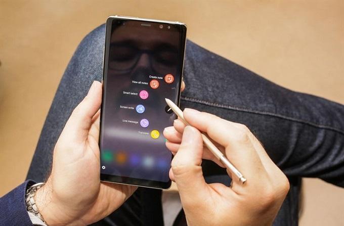 Cấu hình Samsung Galaxy Note 8