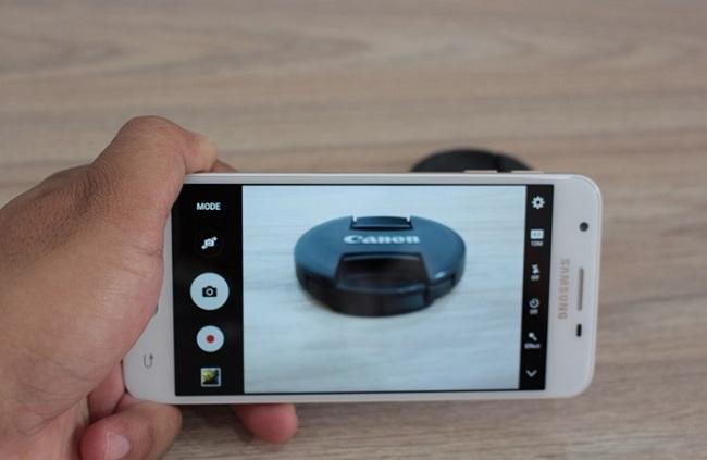 Samsung Galaxy On5 2016 hỗ trợ quay phim Full HD