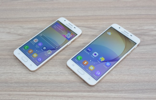 Samsung Galaxy On5 2016 màn hình cán mức HD
