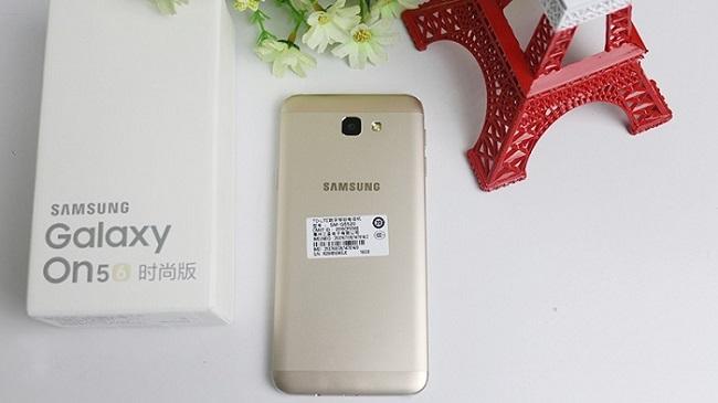 Samsung Galaxy On5 2016 thiết kế cấu hình