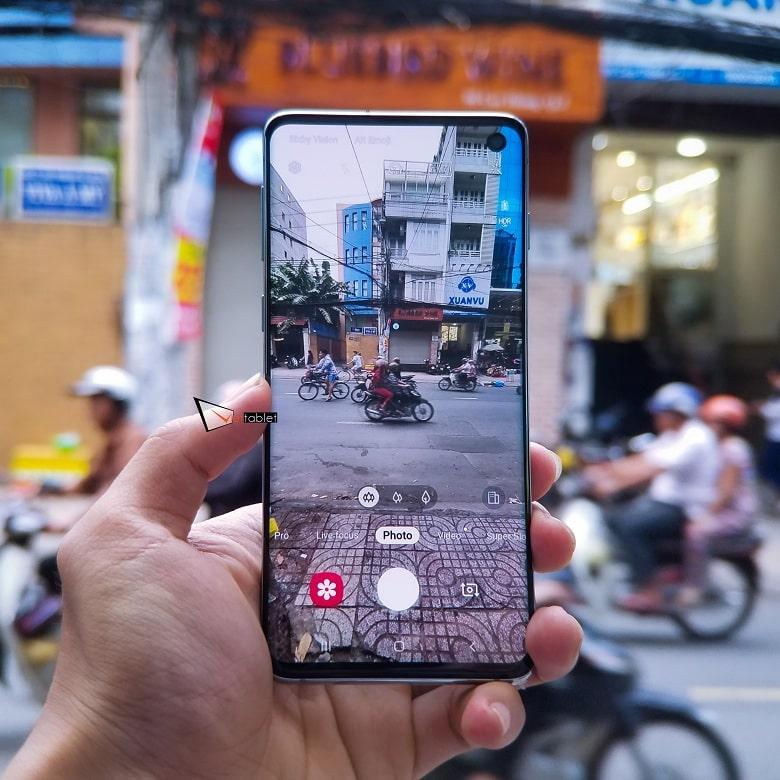 Chụp ảnh của Samsung Galaxy S10 8GB - 128GB Hàn Quốc
