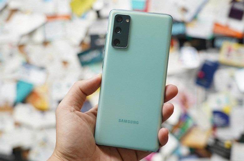 mặt lưng Samsung Galaxy S20 chip Mỹ