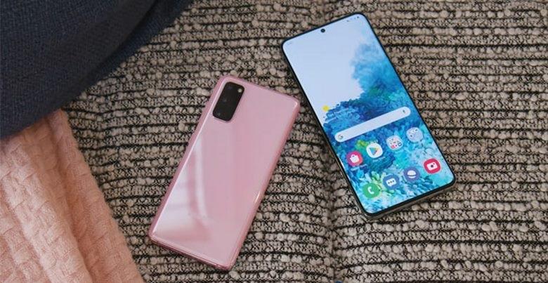 màn hình Samsung Galaxy S20 chip Mỹ
