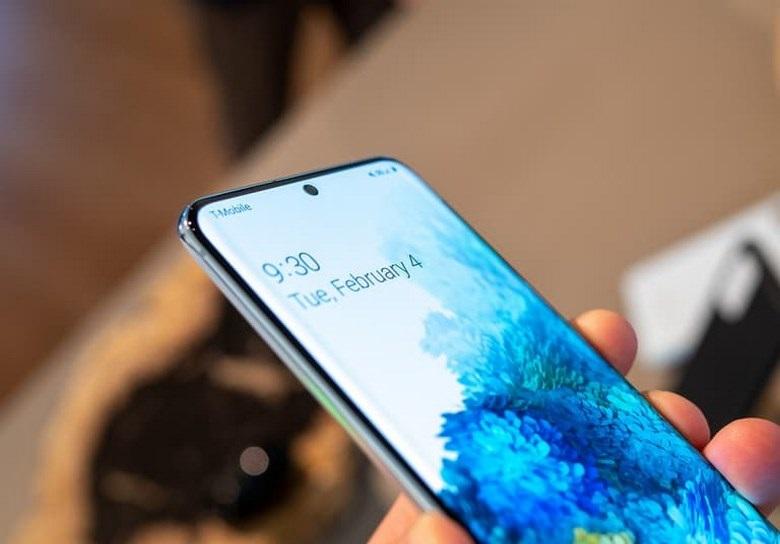 màn hình Samsung Galaxy S20 Plus chip Mỹ